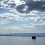 Yellowstone Lake - The Front Line