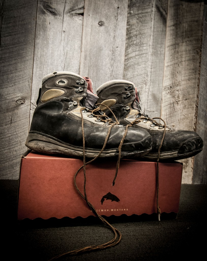 Todd France's Retired Rivershed Boots